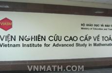 Viện Nghiên cứu cao cấp về Toán: Trung tâm toán học xuất sắc khu vực