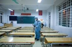 Cấp bách phòng, chống dịch COVID-19 trong các nhà trường