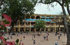 Học sinh Hà Nội hào hứng trở lại trường học sau kỳ nghỉ dịch