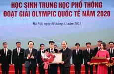 Cậu học trò ba lần giành huy chương vàng Olympic tin học quốc tế