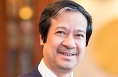 Tân Bộ trưởng Bộ GD-ĐT Nguyễn Kim Sơn gửi thư cho nhà giáo cả nước