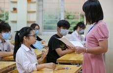 Hà Nội: Đề thi chính thức vào lớp 10 môn Ngữ văn và Ngoại ngữ