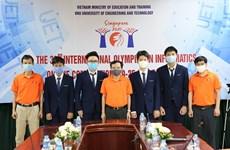 Học sinh Việt Nam giành 4 huy chương bạc Olympic Tin học quốc tế 2021