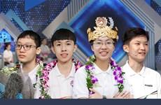 Bốn nhà vô địch Olympia 2020 'hội quân' trong một trường đại học
