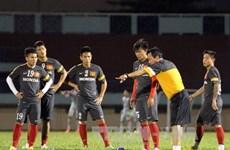 Ông Hoàng Văn Phúc vẫn chỉ đạo U23 Việt Nam tập luyện