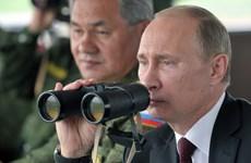 Tổng thống Putin thị sát tập trận của lực lượng hạt nhân