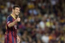 """Messi """"khủng hoảng nhẹ"""" đối đầu Milan """"khủng hoảng nặng"""""""