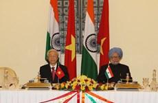 Tuyên bố chung Việt Nam - Ấn Độ nhân chuyến thăm của Tổng Bí thư