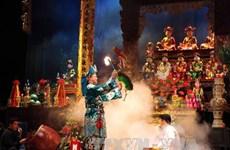 """Liên hoan """"Nghi lễ Chầu văn của người Việt"""" tại Phủ Dầy"""