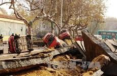 Đã có 35 người chết trong vụ nổ đường ống ở Trung Quốc