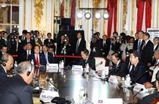 """Nhật Bản-ASEAN đảm bảo """"tự do đi lại trên bầu trời"""""""