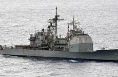 Tàu chiến Mỹ và Trung Quốc suýt va chạm nhau ở Biển Đông