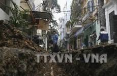 3.500 hộ dân Hà Nội mất nước sinh hoạt do vỡ đường ống