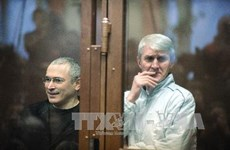 Mỹ hoan nghênh Nga ân xá cho cựu tỷ phú Khodorkovsky