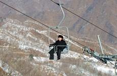 Ông Kim Jong-Un thăm khu trượt tuyết ngày cuối năm