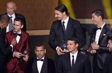 Cristiano Ronaldo và Messi đứng ở vị trí cao hơn tất cả