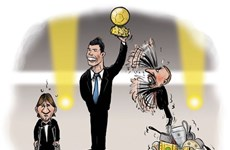 France Football tung biếm họa tranh cãi về Quả bóng Vàng