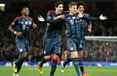 "Kết quả Champions League: Bayern lại ""đè""Arsenal"