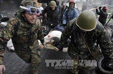 Ukraine cách chức Bộ trưởng Nội vụ, ân xá người biểu tình