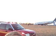 """Hành khách thi nhau """"tự sướng"""" khi máy bay gặp nạn"""