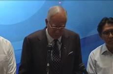 Thủ tướng Malaysia tuyên bố dừng tìm MH370 trên Biển Đông