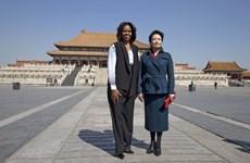 Đệ nhất phu nhân Trung-Mỹ đi thăm Tử Cấm Thành