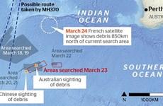 Mỹ cử đội định vị hộp đen tới vùng nghi có mảnh vỡ MH370