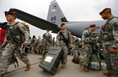 Mỹ triển khai quân rầm rộ tới khắp Đông và Nam châu Âu