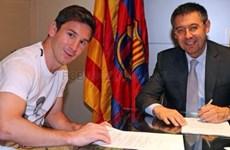 Chủ tịch Barcelona phải đến tận nhà Messi để ký hợp đồng!