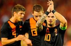 Hà Lan chốt danh sách chính thức dự World Cup 2014