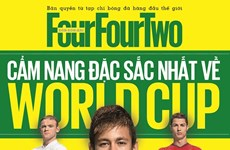 """""""Cẩm nang World Cup 2014"""" của FourFourTwo ra mắt phiên bản Việt"""