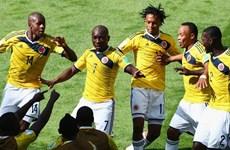 """Đè bẹp Hy Lạp tới 3-0, Colombia chứng tỏ vị thế """"chú ngựa ô"""""""