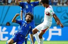Italy để thua sốc Costa Rica là do thời tiết ở Brazil quá nóng?