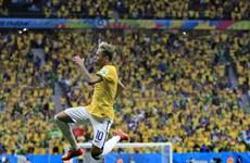 Đồ họa 3D cú đúp của Neymar trong trận Brazil hạ Cameroon