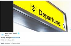 Hàng không Hà Lan xúc phạm Mexico sau cú ngược dòng