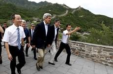 Mỹ gây sức ép với Trung Quốc về nhân quyền và tranh chấp trên biển