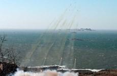 [Video] Triều Tiên bắn tên lửa tầm ngắn xuống biển Nhật Bản