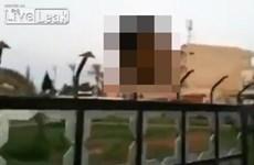 Đoạn video ISIS bêu đầu binh sĩ Syria khiến thế giới bàng hoàng