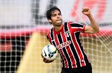 Kaka ghi bàn ngay trong trận đầu tiên trở lại Sao Paulo