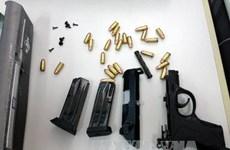 Uông Bí: Bắt đối tượng dùng dao chém công an, lấy đi 2 khẩu súng
