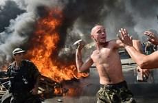 [Photo] Bạo loạn đẫm máu tại quảng trường Độc lập ở Ukraine