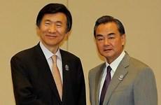 Ngoại trưởng Trung - Hàn thảo luận về lịch sử liên quan tới Nhật Bản