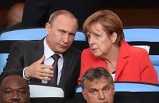 Đoàn xe viện trợ của Đức và Nga đều lên đường đến Ukraine