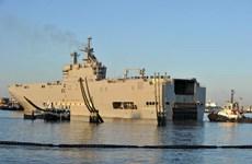 Nhà tàu Pháp có thể phá sản vì vụ hoãn giao tàu Mistral cho Nga