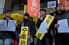 Thủ lĩnh biểu tình Hong Kong Joshua Wong bị cảnh sát truy tố