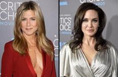 Hai người đàn bà từng đi qua cuộc đời Brad Pitt chạm mặt