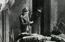Bức ảnh cuối cùng về trùm phátxít Adolf Hitler trước khi tự sát