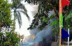 Indonesia: Máy bay lao xuống khu dân cư, 30 người đã chết