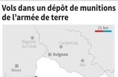Căn cứ Pháp mất hàng trăm thiết bị nổ, tăng nguy cơ khủng bố