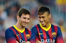 Messi và Neymar vắng mặt trong chuyến du đấu của Barcelona